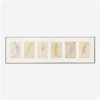 isadora duncan (6 works) by abraham walkowitz