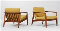 armchair by folke ohlsson