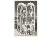 belvedere by m. c. escher
