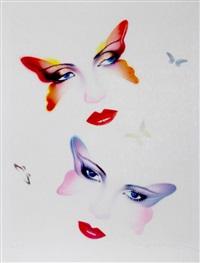 butterflies by peter sato