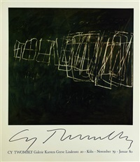 galerie karsten greve by cy twombly