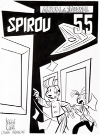 spirou et fantasio by serge clerc