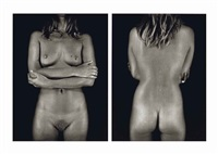 kate moss, 2005 by chuck close