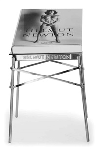 sumo (bk w/stand designed by philippe starck) by helmut newton