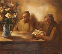 la lecture by marcel gillis