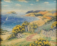 the devonshire coast by stuart m. armfield