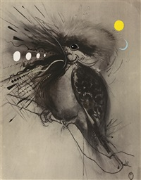 kookaburra by brett whiteley