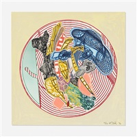 egyplosis (from imaginary places ii) by frank stella