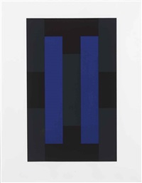 (untitled) (set of 10) by ad reinhardt