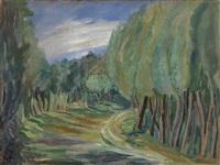 landscape by varvara dmitrievna bubnova