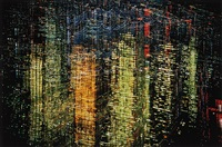lights of new york city, ny by ernst haas