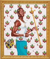 passing/posing (st. john the baptist) by kehinde wiley