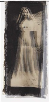 bride with brooch (3 works) by kimberly austin