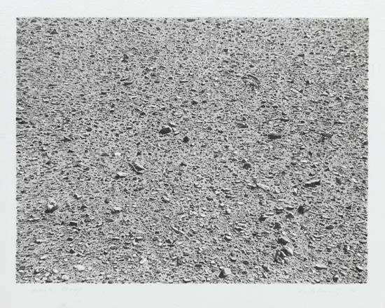 untitled portfolio desert by vija celmins