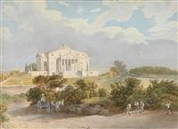 die villa rotonda von andrea palladio by joseph gerstmeyer