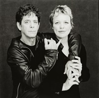 lou reed et laurie anderson by timothy greenfield-sanders
