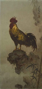 ayam jago (champion rooster) by lee man fong