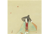 rain shower in late autumn by shoen uemura