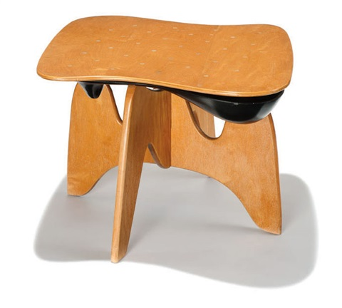 chess table model in 61 by isamu noguchi