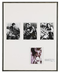 untitled (publicity) (in 4 parts) by richard prince