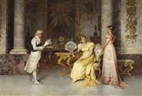 the young suitor by francesco beda