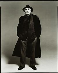 harvey lichtenstein, new york by richard avedon