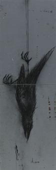 falling dead bird (in 2 parts) by roa