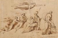 allégorie de la naissance du roi de rome by pietro benvenuti