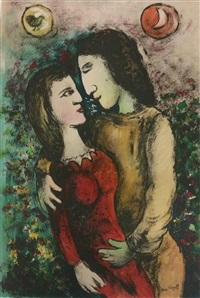 untitled by marc chagall