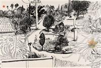 linfield gardens by brett whiteley