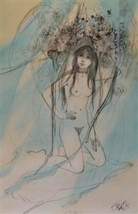 la jeune fille nue by jean-baptiste valadie