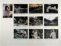 the painter (roman-photo)(10 works) by jean le gac