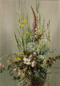 dorset gardens (+ wild flowers; pair) by vernon ward