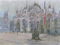 piazza s. marco, venice by george wharton edwards