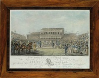 the great contest between spring and langan, upon worcester race course, jany 7th, 1824, for the championship of england by john pitman & james clements