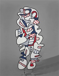 l'intercesseur by jean dubuffet