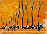 hyde park on automne by andré brasilier