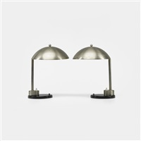 table lamps (pair) by kurt versen
