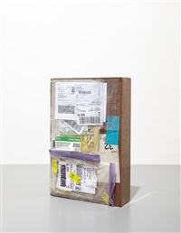 copper (fedex® large kraft box ©2005 fedex 139751 rev 10/05 sscc), standard overnight, los angeles-new york trk#870069766920/867788937067, january 12-13, 2010 (...), international priority, doha-london trk#800273501036, july 21-23, 2013 (...), priority ove by walead beshty