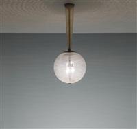 ceiling light, model no. 5417 by carlo scarpa