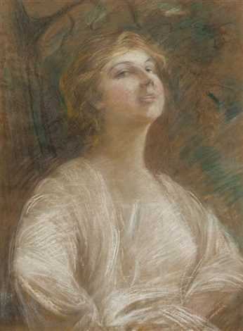 girl in ecstasy by teodor axentowicz