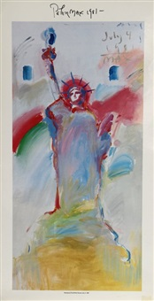 statue of liberty 2 by peter max