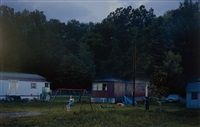 untitled (trailer park), summer from beneath the roses by gregory crewdson