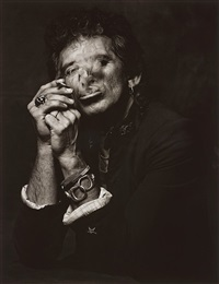 keith richards, new york city, 1988 by albert watson