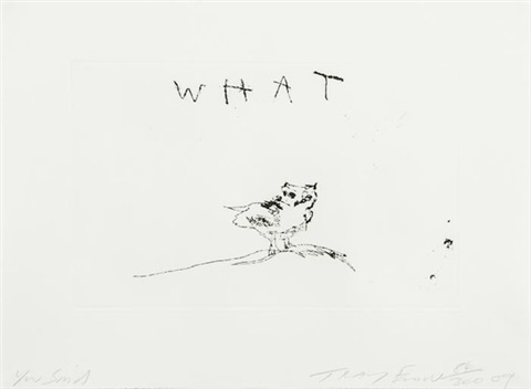 you said by tracey emin