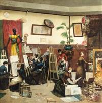 les peintres femmes by elizabeth pillard