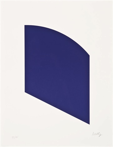 purple by ellsworth kelly