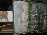 bootjes aan de kade by médard tytgat