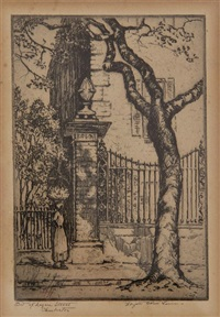 bit of legare street, charleston by elizabeth o'neill verner