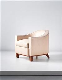armchair by émile jacques ruhlmann